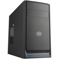 Obudowa komputerowa Cooler Master MasterBox E300L, czarna z niebieskim wykończeniem