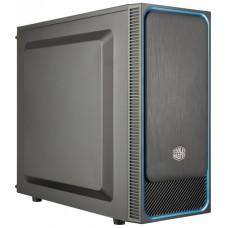 Obudowa komputerowa Cooler Master MasterBox E500L, czarna z niebieskim wykończeniem