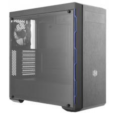 Obudowa komputerowa Cooler Master MasterBox MB600L w/ODD, czarna z niebieskim wykończeniem, okno