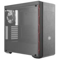 Obudowa komputerowa Cooler Master MasterBox MB600L w/ODD, czarna z czerwonym wykończeniem, okno