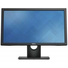 """Dell E2016H, 19,5"""", TN, 1600x900, DisplayPort, D-Sub, czarny, 3 lata gwarancji"""