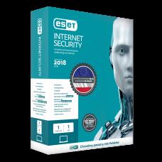 ESET Internet Security, licencja na 1 komputer, 1 rok + 3 miesiące gratis, BOX