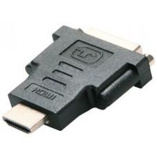 Adapter HDMI (M) => DVI (F) (24+1), czarny