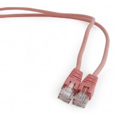 Patchcord UTP 2m, kat. 5E, różowy