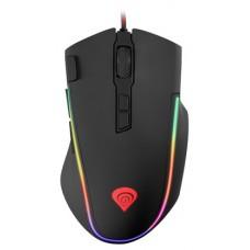 Mysz Genesis Krypton 700, 7200 DPI, RGB, czarna