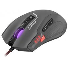Mysz Genesis Xenon 210, 3200 DPI, RGB, czarna