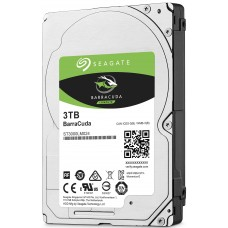 "Dysk Seagate BarraCuda, 2.5"", 3TB, SATA/600, 5400RPM, 15mm, 128MB cache"