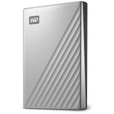 """Dysk WD My Passport Ultra for MAC, 2.5"""", 2TB, USB-C, szyfrowanie sprzętowe, srebrny"""